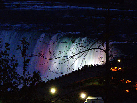 Canada Ontario Photos :: Niagara Falls :: Niagara Falls at Night