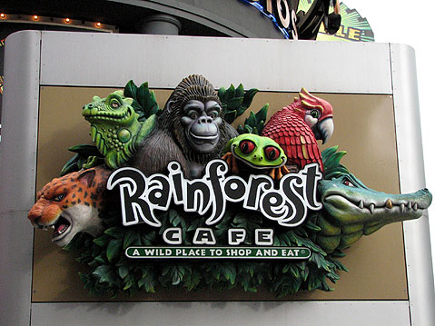 Canada Ontario Photos :: Niagara Falls :: Niagara Falls (city) - Rainforest Cafe