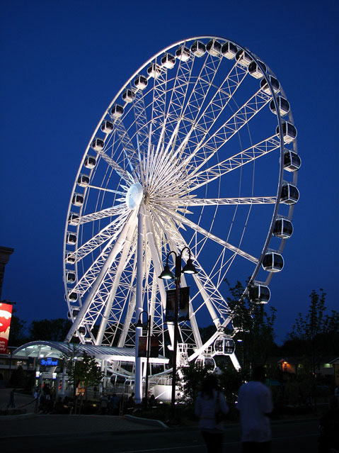 Canada Ontario Photos :: City views :: Town of Niagara Falls. Rides