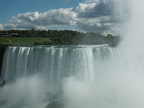 World Travel Photos :: Waterfalls :: View of American Niagara Falls