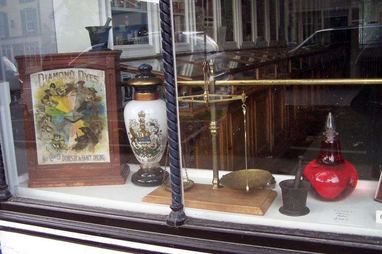 Canada Ontario Photos :: Валентина :: Niagara-on-the-Lake. A shop window of the antiques store