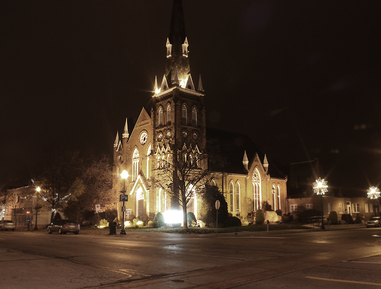 Canada Ontario Photos :: Oakville :: Oakville at night