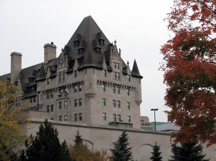 Canada Ontario Photos :: City views :: Ottawa. Fairmont Chateau Laurier hotel