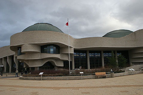 Canada Ontario Photos :: Ottawa :: Hall. Museum of Civilization