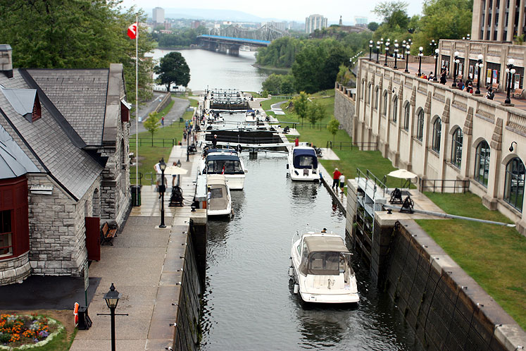 Canada Ontario Photos :: City views :: Ottawa. Locks