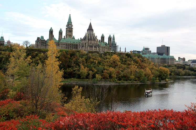 Canada Ontario Photos :: Torontonian :: Ottawa. A view on Parliament building