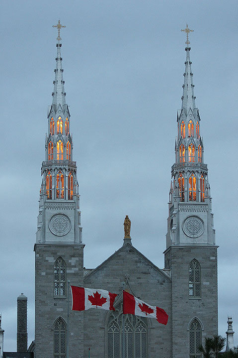 World Travel Photos :: Religious buildings :: Ottawa. Notre-Dame Cathedral Basilica