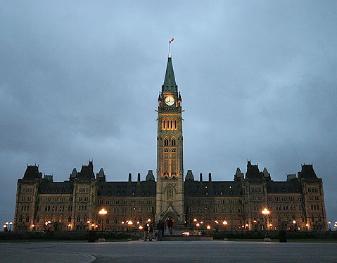 World Travel Photos :: The most famous buildings  :: Ottawa. Parliament Building