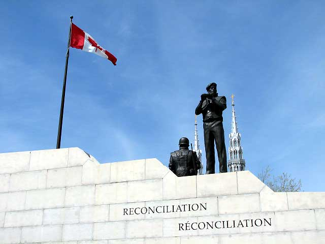 World Travel Photos :: Military Theme :: Ottawa. Reconciliation