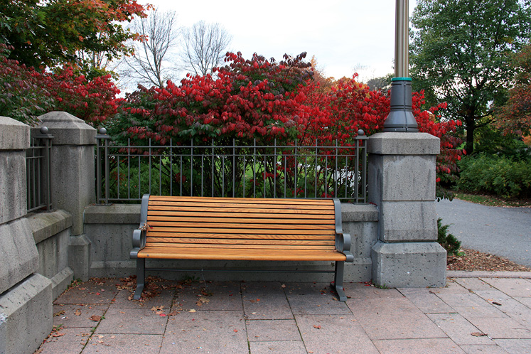 Canada Ontario Photos :: Ottawa :: Ottawa - a quiet corner in a city centre