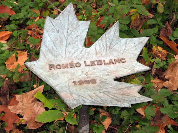Canada Ontario Photos :: National symbolics :: Ottawa. Rideau Hall park - in a memory of Romeo Leblanc