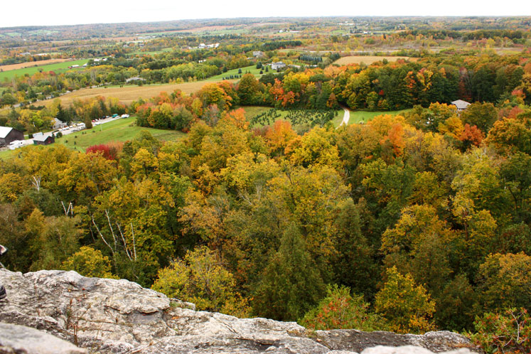 Canada Ontario Photos :: Torontonian :: A view from Rattlesnake Point