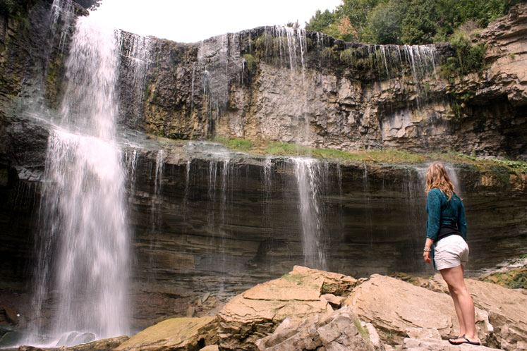 Canada Ontario Photos :: Waterfalls :: Hamilton. Spencer Gorge - Webster´s Falls
