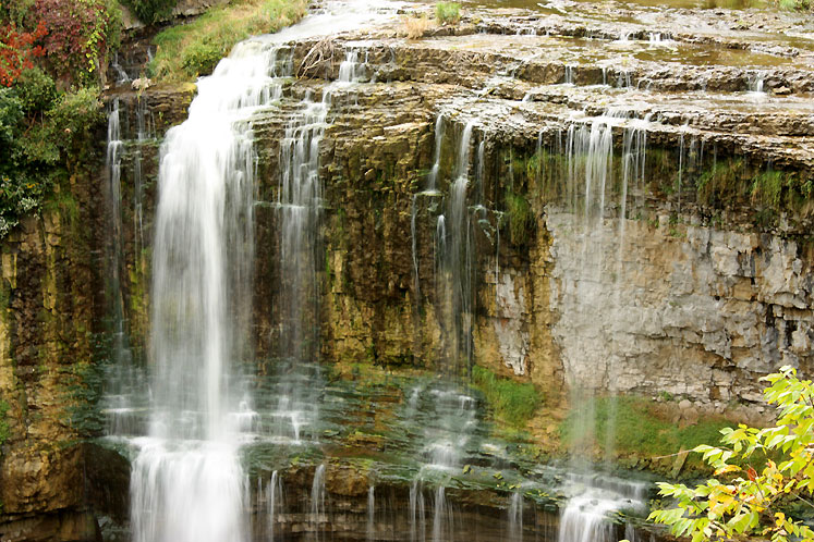 World Travel Photos :: Waterfalls :: Spencer Gorge. Webster´s Falls