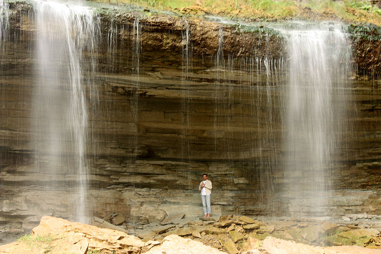 Canada Ontario Photos :: Hamilton - Spencer Gorge :: Spencer Gorge. Webster´s Falls