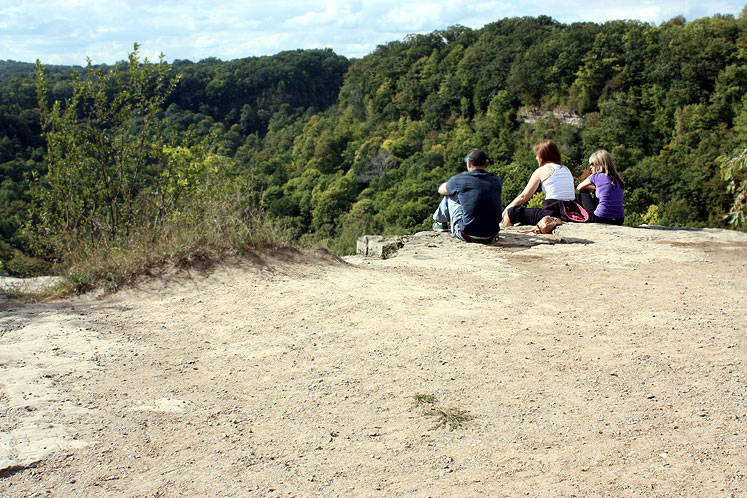 Canada Ontario Photos :: Hamilton - Spencer Gorge :: Spencer Gorge - a lookout
