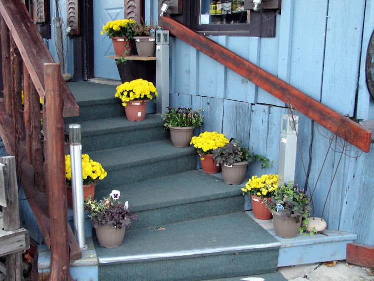 Canada Ontario Photos :: St. Jacobs :: St.Jacobs. Stairs
