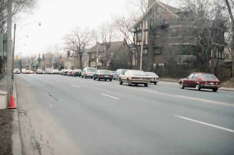 Canada Ontario Photos :: Frank :: Mount Pleasant Road north. Took this photo in 1987