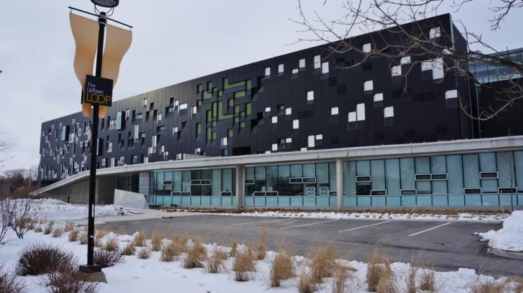 Canada Ontario Photos :: Waterloo :: Perimeter Institute Building for Theoretical Physics located Waterloo built in 1999