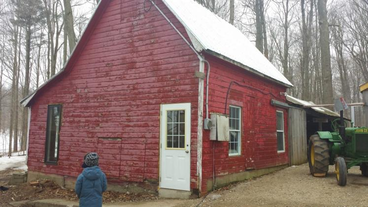 Canada Ontario Photos :: Waterloo :: Pancake house at Martins Maple Syrup Farm Waterloo